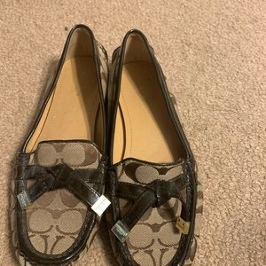 Coach loafers/drivers size 8, great condition!